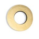 Oeilleton extra large rond chamois