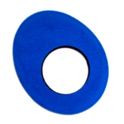 Oeilleton small ovale microfibre Blue star