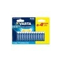pack de 10 Piles High Energy LR03 Varta