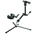 Manfrotto kit bras magique + base backlite + super clamp + support appareil photo/parapluie