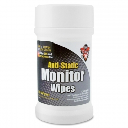 Dust Off  monitor wipes Lingettes sans alcool (par 80)