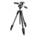 Manfrotto - Compact advanced black avec rotule 3D