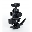 Pince super clamp Manfrotto avec rotule