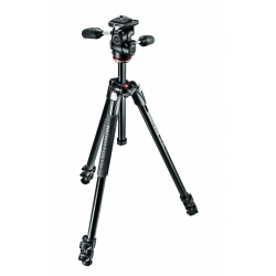 Manfrotto kit trépied aluminium 290 XTRA 3 sections avec rotule 3D