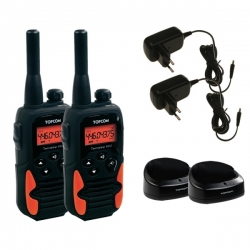 Topcom kit de 2 talkie-walkie Twintalker 9500
