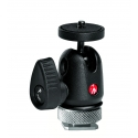 Manfrotto rotule micro ball avec griffe Hot Shoe - 492LCD