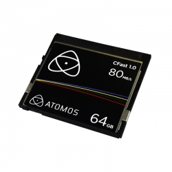 Atomos CFast 1.0 carte de stockage compact flash type 1 de 64 Gb