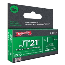 Agrafes ARROW JT21 10mm