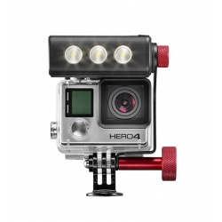 Manfrotto Torche LED off road pour GoPro