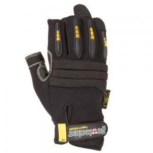 Gants Dirty Rigger Protector Framer fit - Gants renforcés au Kevlar avec 3 doigts coupés