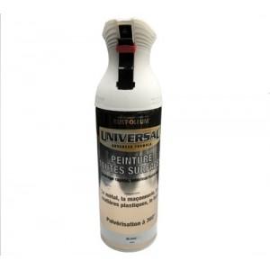 Bombe de peinture Blanc mat (400ml)