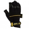 Gants dirty Rigger LEATHER GRIP 3 doigts coupés
