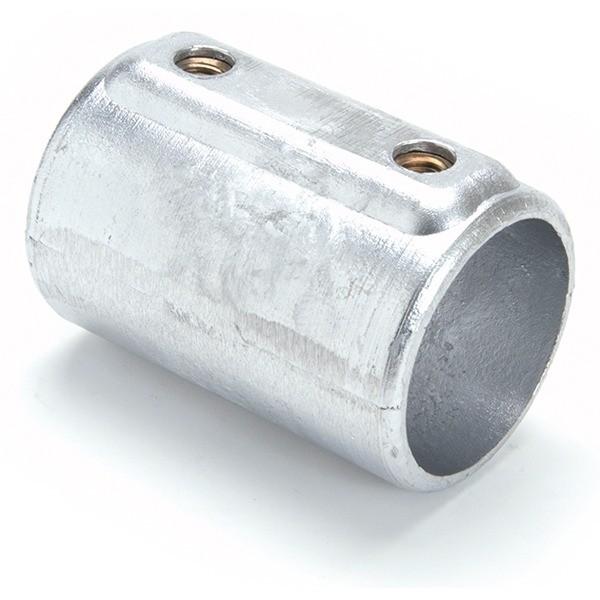 Raccord de tube Ø 50 mm en fonte - pour 2 tubes bout à bout