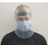 Masque de protection visière plastique soulevable