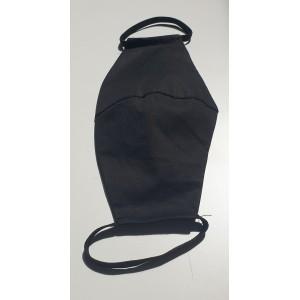 Masque de protection tissu noir type simple