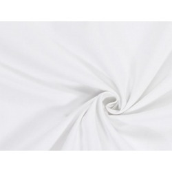 cotton gratté blanc 50mx2,6m blanc