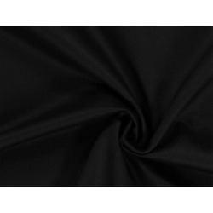 Coton gratté noir 50mlx 2,6m 140g/m2