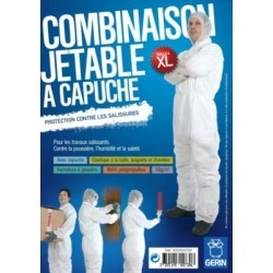 Combinaison de protection jetable