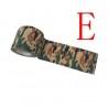 Ruban Camouflage Auto-Adhèrant MOTIF E