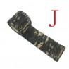 Ruban Camouflage Auto-Adhèrant MOTIF J