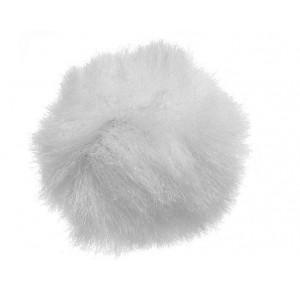 pare-brise fourrure  blanc pour SONY RODE BOYA  Lavalier Microphones