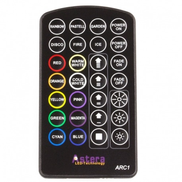 Télécommande IR pour tout projecteur Astera