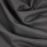 Coton gratté deux-faces M1 160 g/m2 Noir largeur 130cm