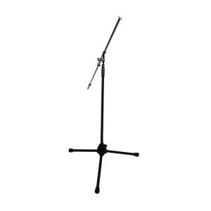 Pied de micro K&M noir pour overhead avec grande perche 21021