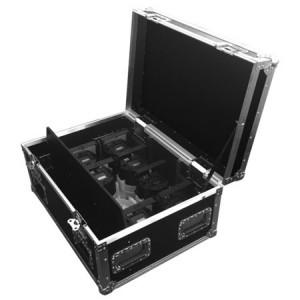 Flight case chargeur Astera pour 8 projecteurs sur batterie AX5