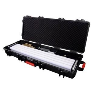 Valise/chargeur pour 8 tubes Astera AX1 avec 8 cables DC et 16 spigots