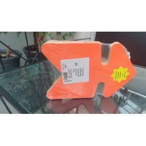 30 Flèches orange/jaune effaçables à sec 16 x 24 CM