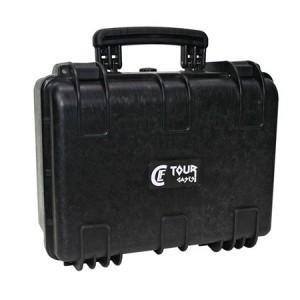 Valise plastique étanche CLF Tourcases - Dim int: 380 x 271 x 178,5 mm