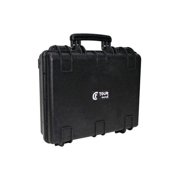 Valise plastique étanche CLF Tourcases - Dim int : 448 x 345 x 121 mm