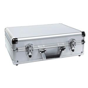 Valise avec mousse prédécoupée - ALU - Dim. : 455x330x152mm