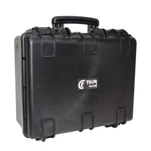 Valise plastique étanche CLF Tourcases - Dim int : 448 x 345 x 186 mm