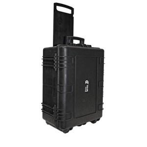 Valise plastique étanche CLF Tourcases - Dim int : 540 x 402 x 250 mm