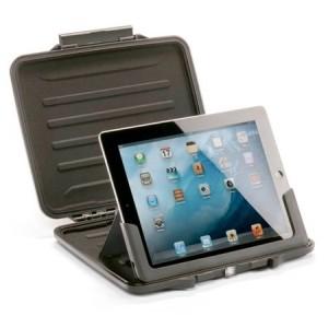 Valise HardBack Case PELI noire pour iPad2, 3, 4 et iPad Air