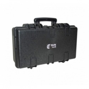 Valise plastique étanche CLF Tourcases - Dim int: 526 x 275 x 169,5 mm
