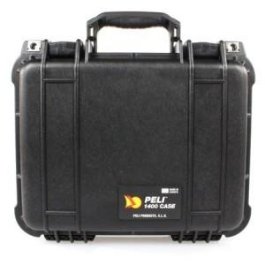 Valise PELI CASE noire - Dim Int : 30,1 x 22,8 x 13,1 cm