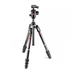 Kit trépied photo carbone Befree GT MANFROTTO MKBFRTC4GT-BH