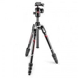 Kit trépied photo carbone Befree Advanced MANFROTTO MKBFRTC4-BH
