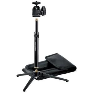 KIT trépied de table MANFROTTO - Haut : 15.6cm à 25cm