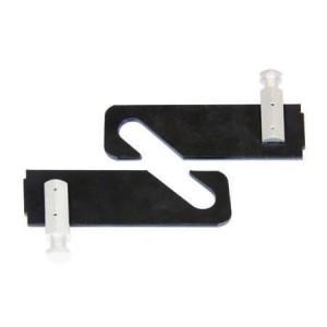 Lot de 2 crochets simples pour Mi-Expan pour papier de fond