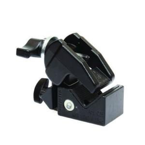 SUPER CLAMP AVENGER avec molette blocage rapide acier - Couleur NOIR
