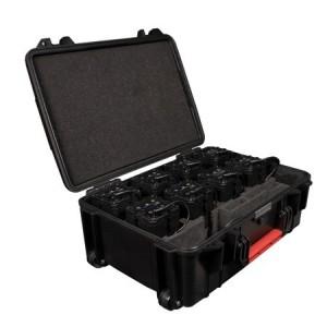 Set de 8 PixelBrick PB15 Astera avec valise de charge