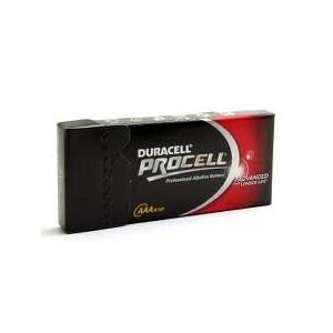 pack de 10 Piles alcaline LR03 Duracell Procell