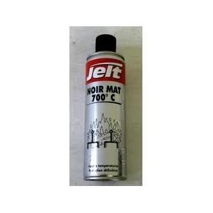 Peinture Noir mat haute température 700°C
