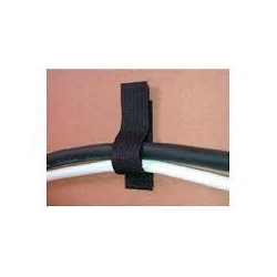 attache cable velcro adhesive