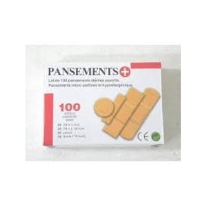 Boîte de 100 pansements