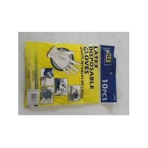 Gants jetables en latex (par 10)
